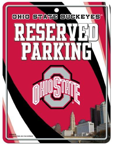 Ncaa Ohio State Buckeyes Hi Res Metal Parking Sign