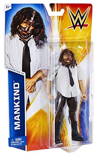 T & Y Shop 7'' Wrestling WWE Action Figure Toys/ Mankind # 3 by T & Y Shop