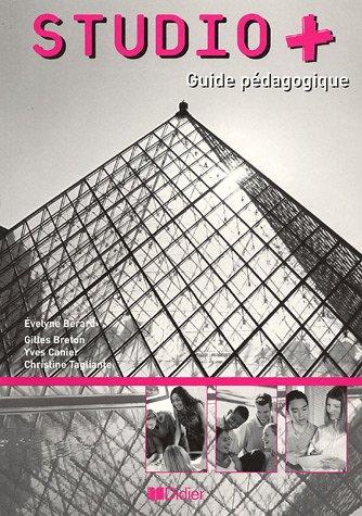 Studio Plus: Guide Pedagogique (French Edition)