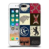 Official HBO Game Of Thrones House Sigils Battle Of The Bastards Soft Gel Case for Apple iPhone 7 Plus/8 Plus