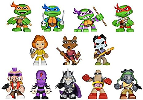 Amazon.com: Funko Teenage Mutant Ninja Turtles Mystery Mini ...