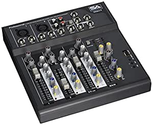 seismic audio slider4 4 channel mixer console with usb interface musical. Black Bedroom Furniture Sets. Home Design Ideas