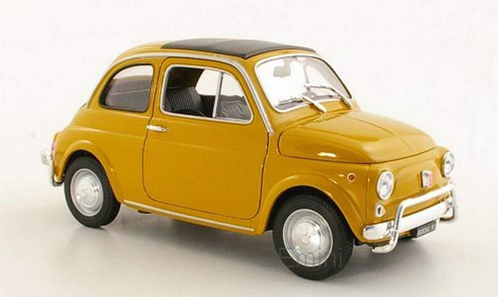 Fiat 500 Modellauto Fertigmodell ocker 1957 Welly 1:18