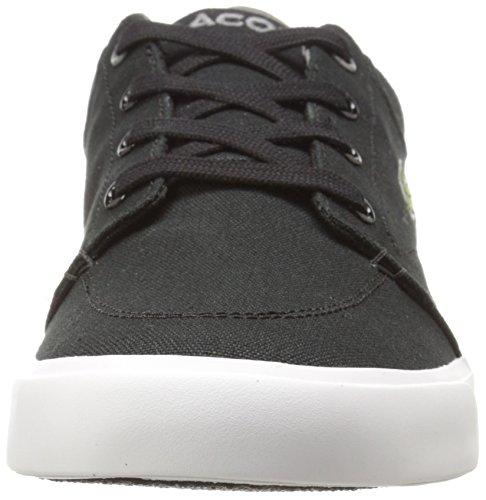 Lacoste Heren Grad Vulc Fashion Sneaker Zwart / Donkergrijs