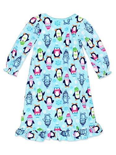 PJ   ME Girls Fleece Granny Gown Nightgown Pajamas with Doll Gown  (Toddler Little 44f22b361