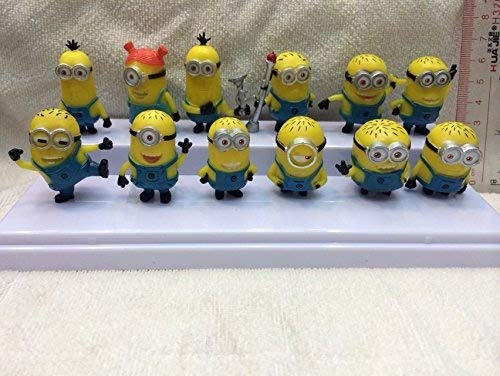 cs Set of Despicable Me 2 Minions Movie Character Figures Doll Toy ()
