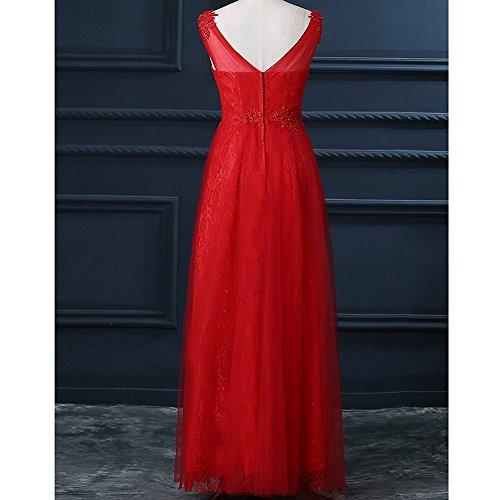 Mujer Corte Drasawee Imperio Rosso Para Vestido Zfwpxx8I