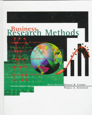 Business Research Methods (The Irwin/McGraw-Hill series, operations and decision sciences)