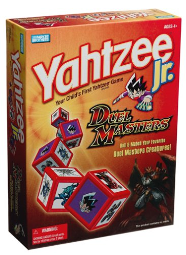 Duel Masters Yahtzee Jr. for sale  Delivered anywhere in USA