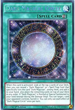 Dark Magic Circle Secret Rare MP17-DE100 NM//M Yugioh