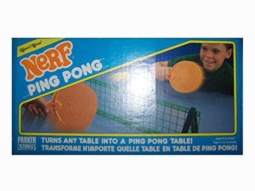 Official Nerf Ping Pong Vintage 1987 Set