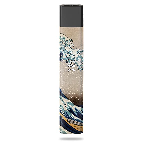 MightySkins Skin Compatible with Pax Era - Great Wave of Kanagawa |  Protective, Durable, and Unique Vinyl Decal wrap Cover | Easy to Apply,  Remove,