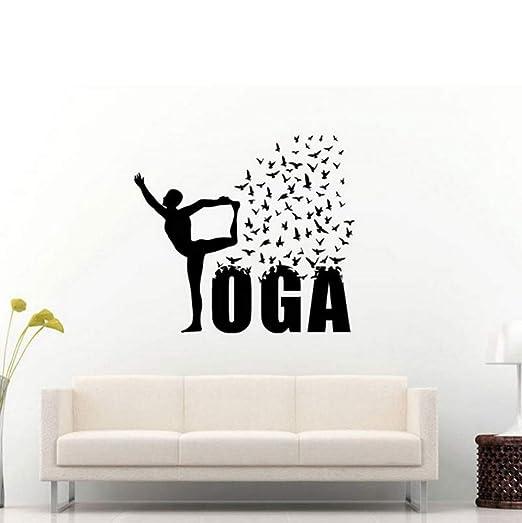 Cmhai Yoga Creativo Volando Patrón De Golondrina Re Etiqueta ...