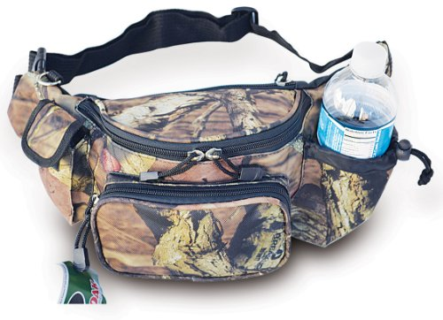 Explorer Tactical Concealed Waist Fanny Packs for Men Women Waterproof, Running with Water Bottle Holder Hiking Everyday Carry Ideal for Hunting Fishing Hiking Shooting ()