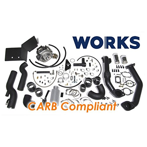 Works 142.211 Stage 1 Turbo Charger Complete Kit with CARB Tune for 2013-2016 Subaru BRZ/Scion FR-S