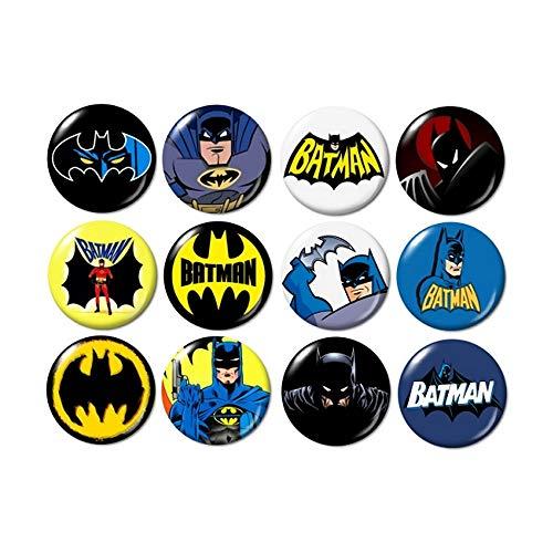 Batman Buttons]()