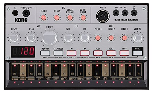 Korg Volca Bass Analog Bass Machine by Korg
