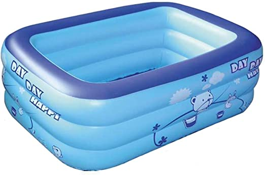 ZHANGXX Piscina Inflable Bañera Doble Piscina Hinchable Piscina ...