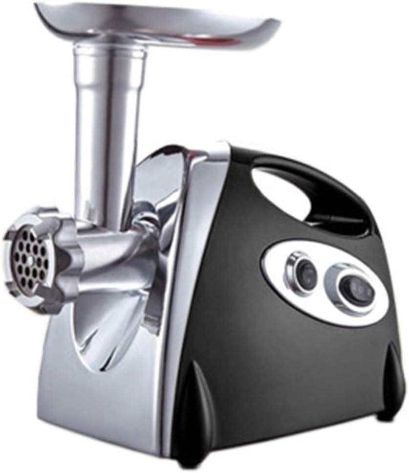 OOFAT Picadora De Carne De Acero Eléctrico 800W Máquina De Picar Carne Inoxidable Máquina De Picar Carne De Salchicha Comercial Embutidora Maker para Uso En El Hogar Y Industrial