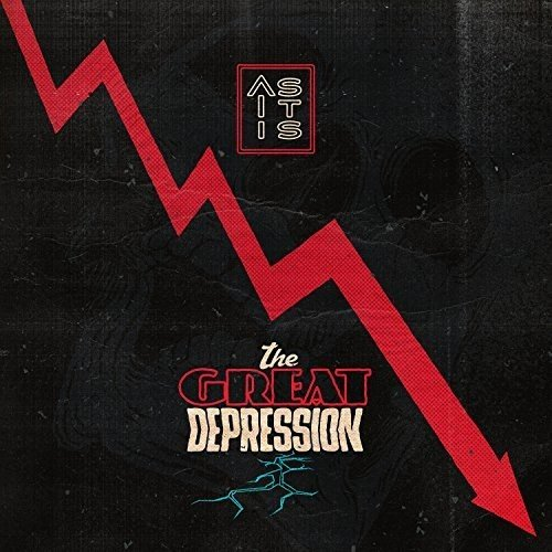 Vinilo : As It Is - Great Depression (Colored Vinyl, Red, Turquoise, United Kingdom - Import, 2PC)