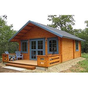 Best Epic Trends 51W6HRHu8yL._SS300_ Allwood Getaway | 292 SQF Cabin Kit with a Loft