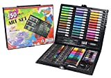 Aidle 148pcs Artist Art Drawing Sets, Colored Pencil Drawing Art Marker Pen Set With Crayon Oil Paint Brush Drawing Professional Art Set Gift for Children Kids.