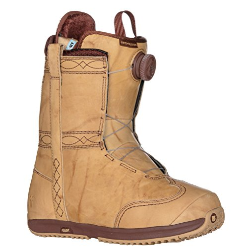 Burton X Frye Womens Snowboard Boots - 6.5/Stitching Horse