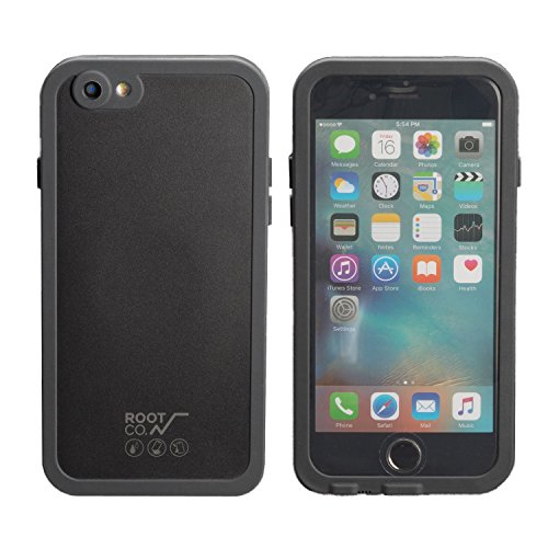 ROOT CO. H2O Water & Shock Proof Hard Shell IP68 iPhone6s/6 ケース 防水 防塵 耐衝撃 / Blackの商品画像