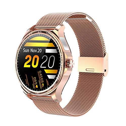 Smartwatch, High-Definition Full-Touch Kleurenscherm Smart Sporthorloge, Met Bluetooth-Oproep, Hartslag…