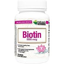 Nature's Wonder Biotin 5000mcg Tablets, 150 Count