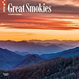 Great Smokies 2018 12 x 12 Inch Monthly Square Wall Calendar, USA United States of America Scenic Nature Mountain