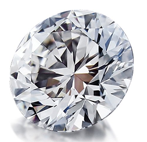 0.11 Carats Round Brilliant Cut Loose Natural Diamond (G Color, VS Clarity) by PEACOCK JEWELS
