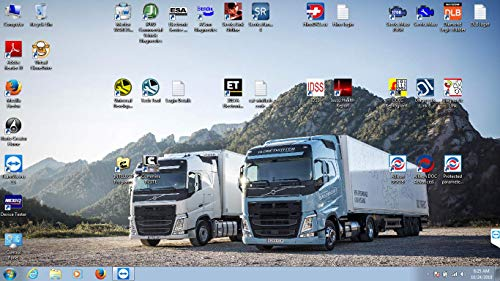 Universal Heavy Duty Diesel Diagnostic Laptop & Interface with All Software  Package Pre Installed-Cummins-Detroit Diesel-Volvo-CAT-Allison-Hino and