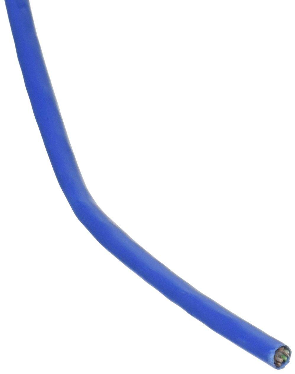 250FT Bulk CAT5E Blue Plnm Solid 24AWG Cable 4PR