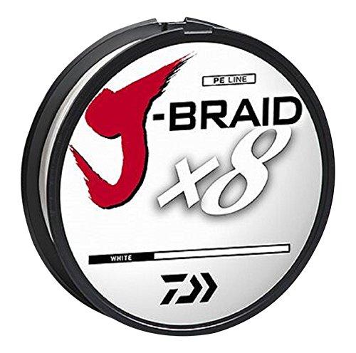 (Daiwa J-Braidx8 Braided Line White)