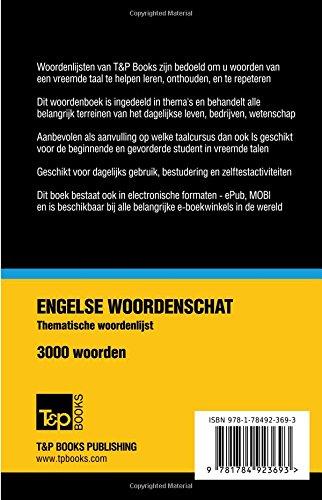 Thematische Woordenschat Nederlands Amerikaans Engels 3000