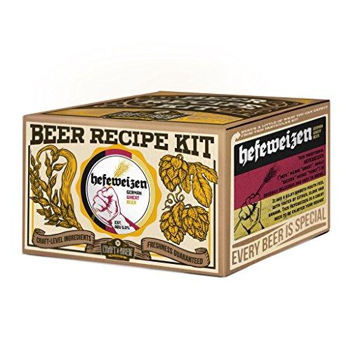 Craft a Brew Hefeweizen Beer Recipe - Beer Recipe Homebrew Kit