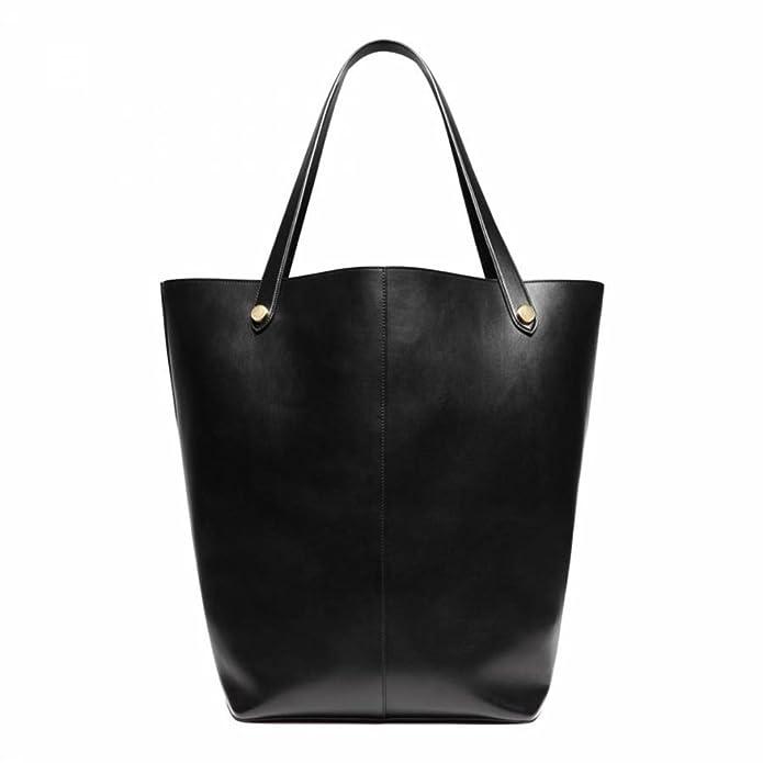 723ba3a53b MULBERRY Handbag - Black Leather Oversized Kite Tote Bag  Amazon.co.uk   Shoes   Bags