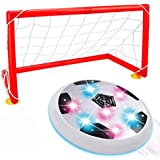 TOP Gift Hover Soccer Ball, Toys for 2-12 Year Old Boy Girl Kids Gifts for Teen Boys 2018 Christmas New Gifts for Kids Boys Girls 3-12 White TGHVB03