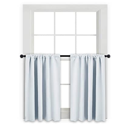 kitchen curtain panels home window kitchen kitchen pony dance small kitchen valances rod pocket curtain panels thermal insulated window drapes for nursery amazoncom