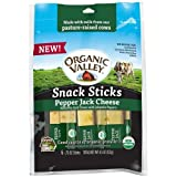 Organic Valley Pepper Jack Sticks Snack, 0.75 Ounce (Pack of 12)