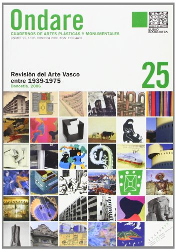 Descargar Libro Ondare 25 - Revision Del Arte Vasco Entre 1939-1975 ) Aa.vv.