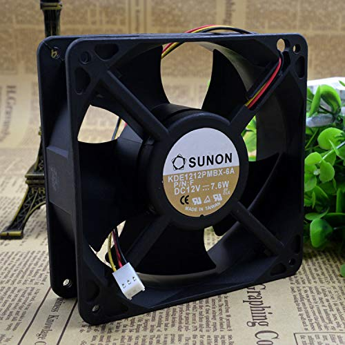 REFIT KDE1212PMBX 12038-6 a 12 v 7.6 W axial Chassis Cooling Fans