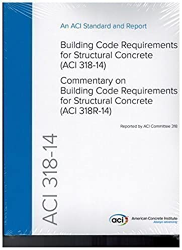 aci 318 14 building code requirements for structural concrete and rh amazon com American Concrete Institute Publications American Concrete Institute Logo