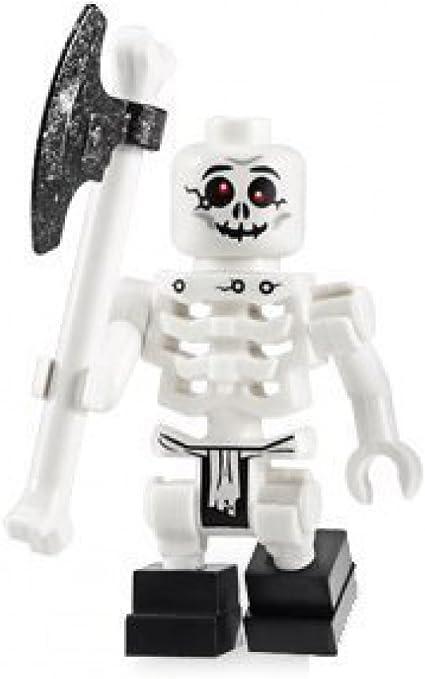 Lego 2x Castle White Skeleton Arm NEW
