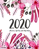 2020 Planner: Daily Weekly Monthly Calendar Planner | 12 Months Jan - Dec 2020 For Academic Agenda Schedule Organizer Logbook and Journal Notebook ... Cover