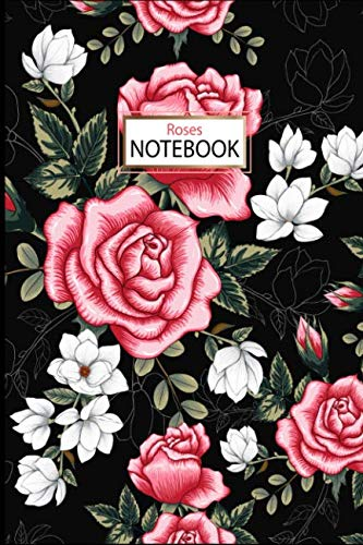 (Notebook: Roses Floral Journal/Notebook, 6 x)