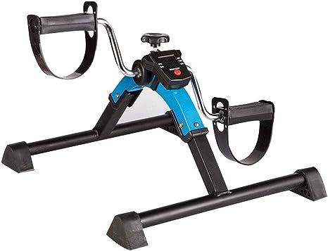 BF-DCGUN Mini Bicicleta estática, Brazo Plegable y pedalera ...