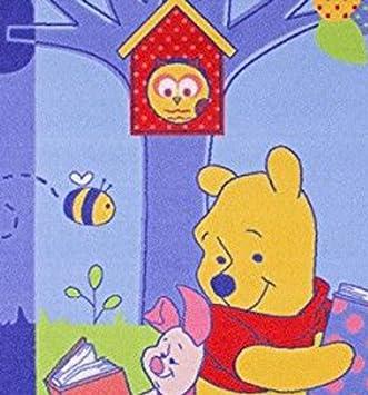 dise/ño con Winnie the Pooh 95 x 133 cm Associated Weavers Alfombra para ni/ños