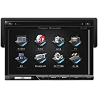 Power Acoustik pd710 Power Acoustik Pd710 7 Tft Lcd Detach Touchscreen Receiver Dvd/am/fm Pd-710